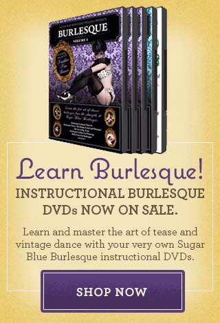 learn burlesque dvd