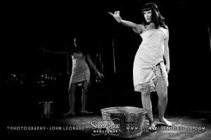 Washerwoman Blues with Angelique Allure and Lulu Peekaboo