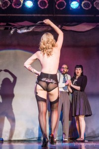 Dr Frisky: Sex Therapist @ Miss Burlesque Western Australia Finals with Charlie D. Barkle and Kitty Litteur