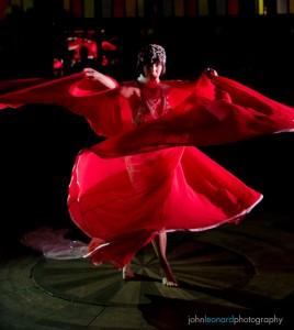 Adora Derriere's Serpent Skirt dance