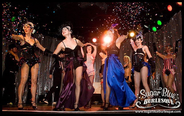 Sugar Blue Burlesque Bakery 2 Photo by Gregory Bruyer