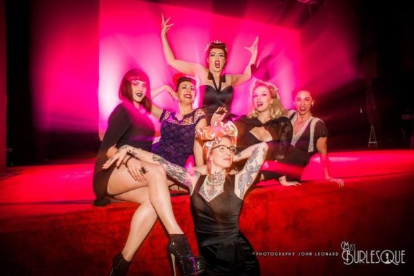 Community? Industry? Or Chaos? Bunch of babes regardless. Photo by John Leonard Photography